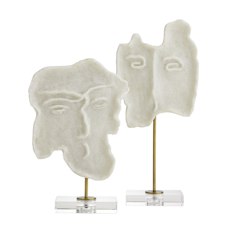 David Sculptures Set of 2