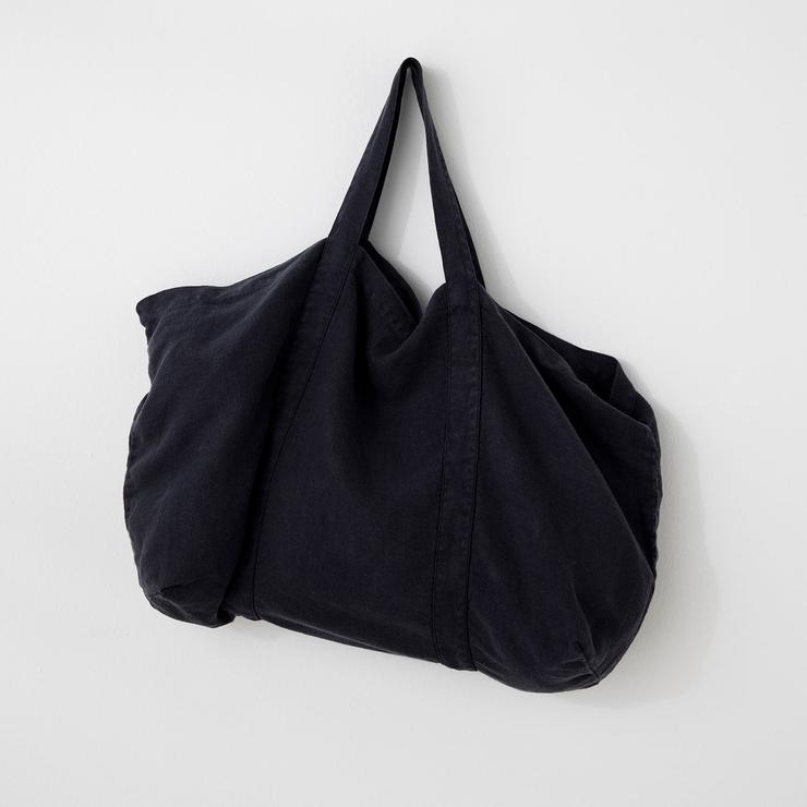 Linen Bag in Navy