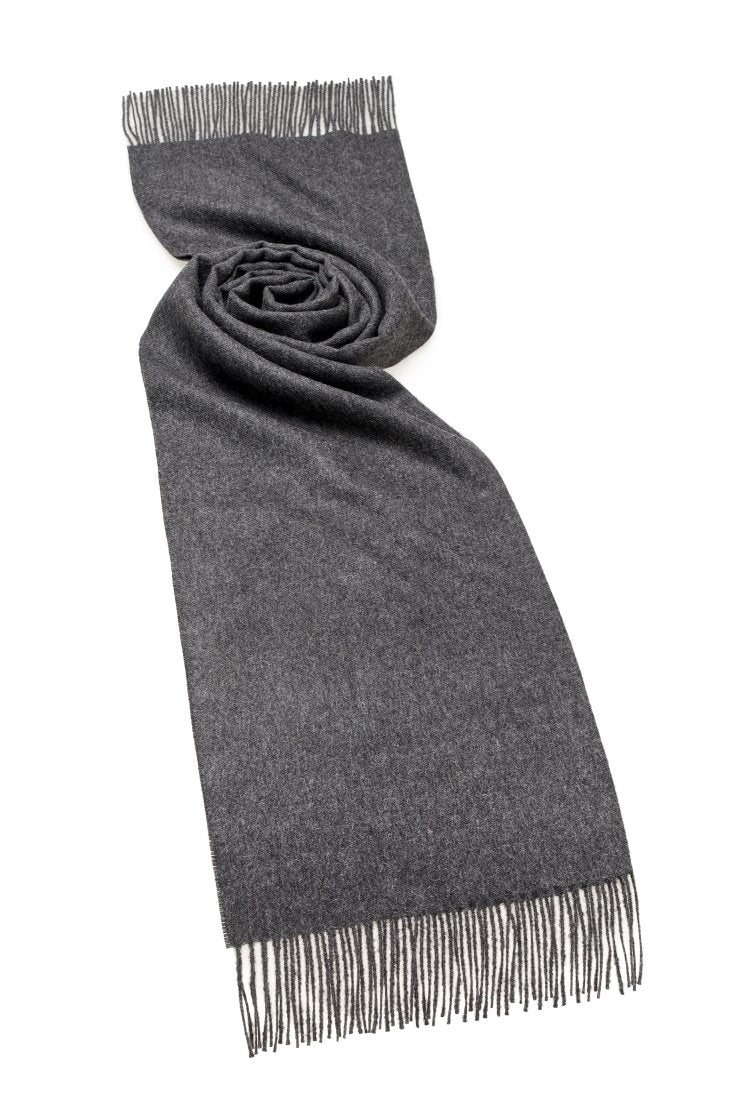 Alpaca Scarf in Charcoal