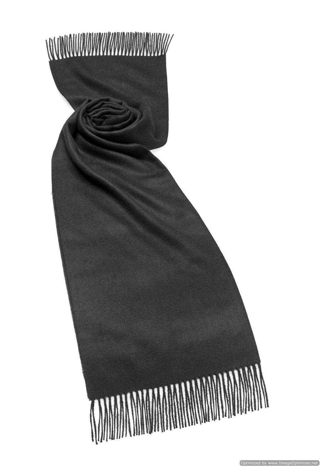 Alpaca Scarf in Black