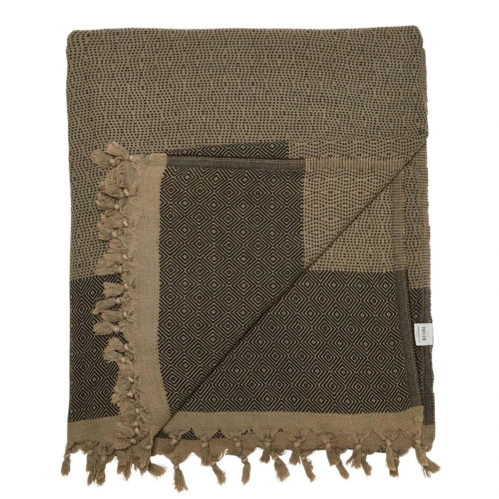 Treachery Blanket in Olive