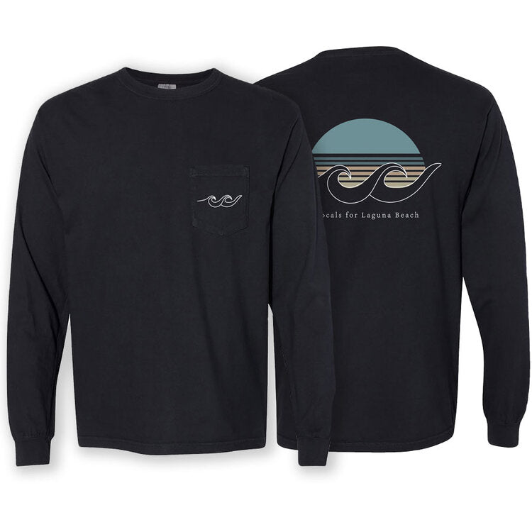 Sunset Black Long Sleeve