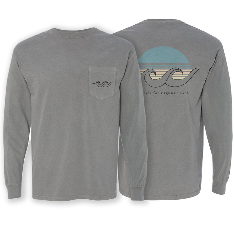 Sunset Gray Long Sleeve