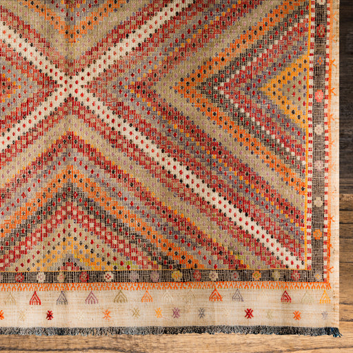 One of Kind Vintage Rug  ~ The Sundance