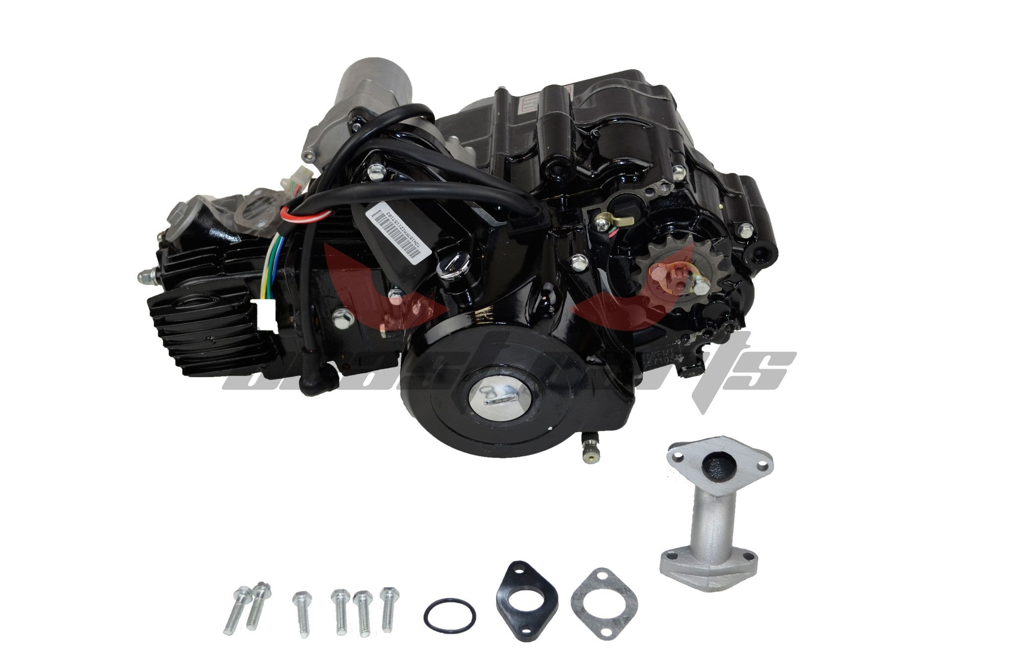 125cc 4 Speed Engine W Reverse
