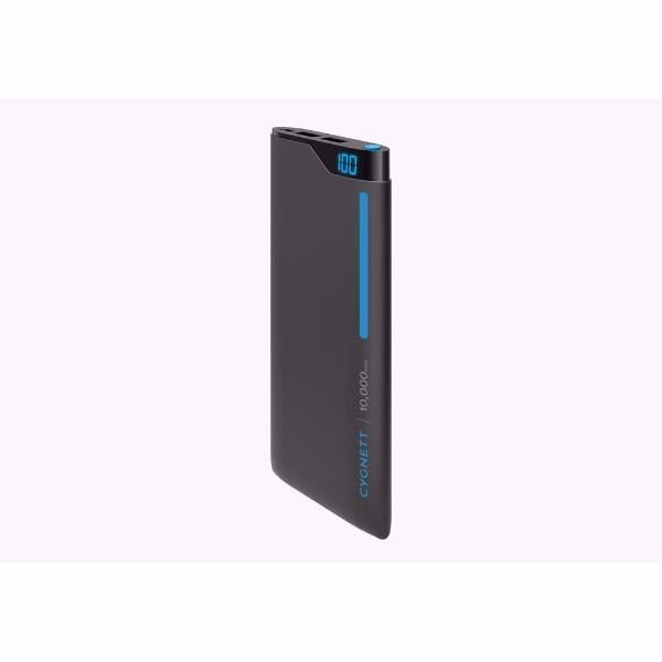 Cygnett ChargeUp Digital 10,000mAh Portable Power Bank in Blue