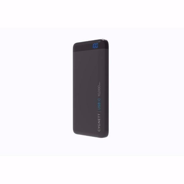 Cygnett ChargeUp Pro USB-C 10,000mAh USB-C Power Bank in Black