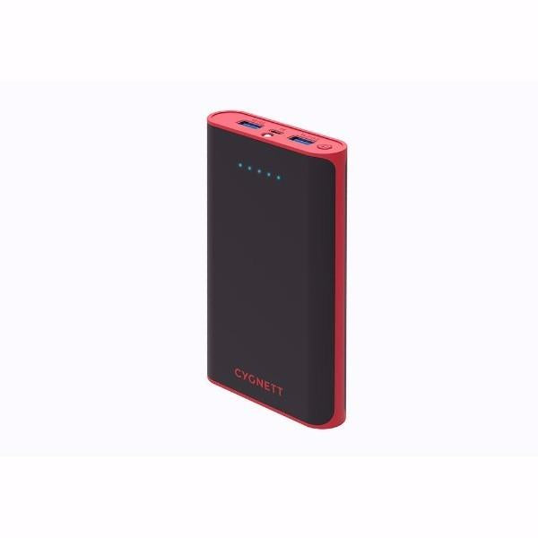 Cygnett ChargeUp Rapid 15,000mAh Portable Power Bank in Red