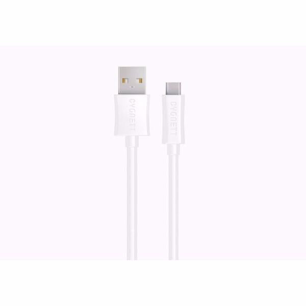 Cygnett Lightspeed 2m USB-C to USB-A Cable in White