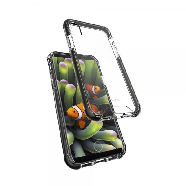 NVS OptiShield Case for iPhone X - Clear/Black