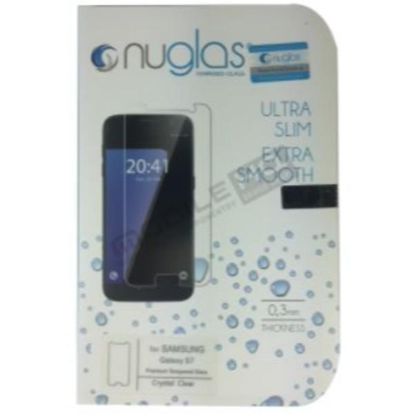Nuglas Premium Samsung S7 Tempered Glass Screen Protector (Clear)