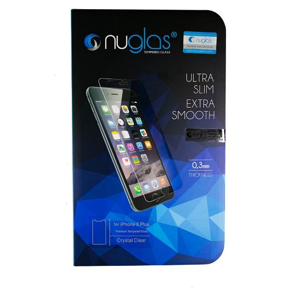 Nuglas Premium Tempered Glass For iPhone 6 plus, 6S plus, 7 plus, 8 plus