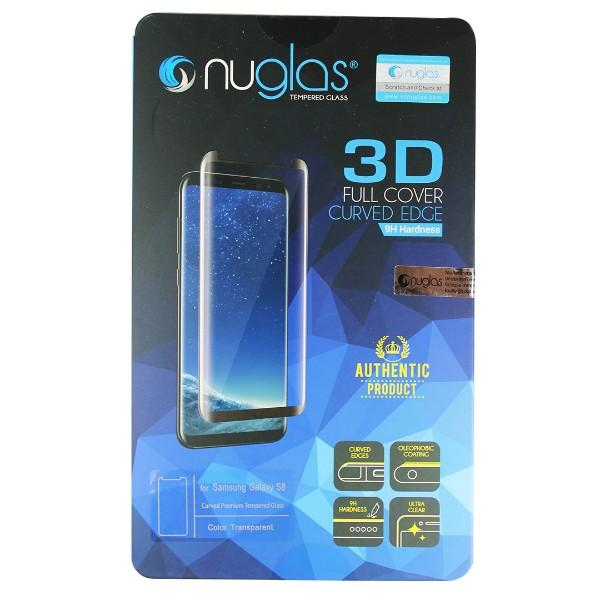 Nuglas Samsung Galaxy S8 Tempered Glass Screen Protector (3D Style)