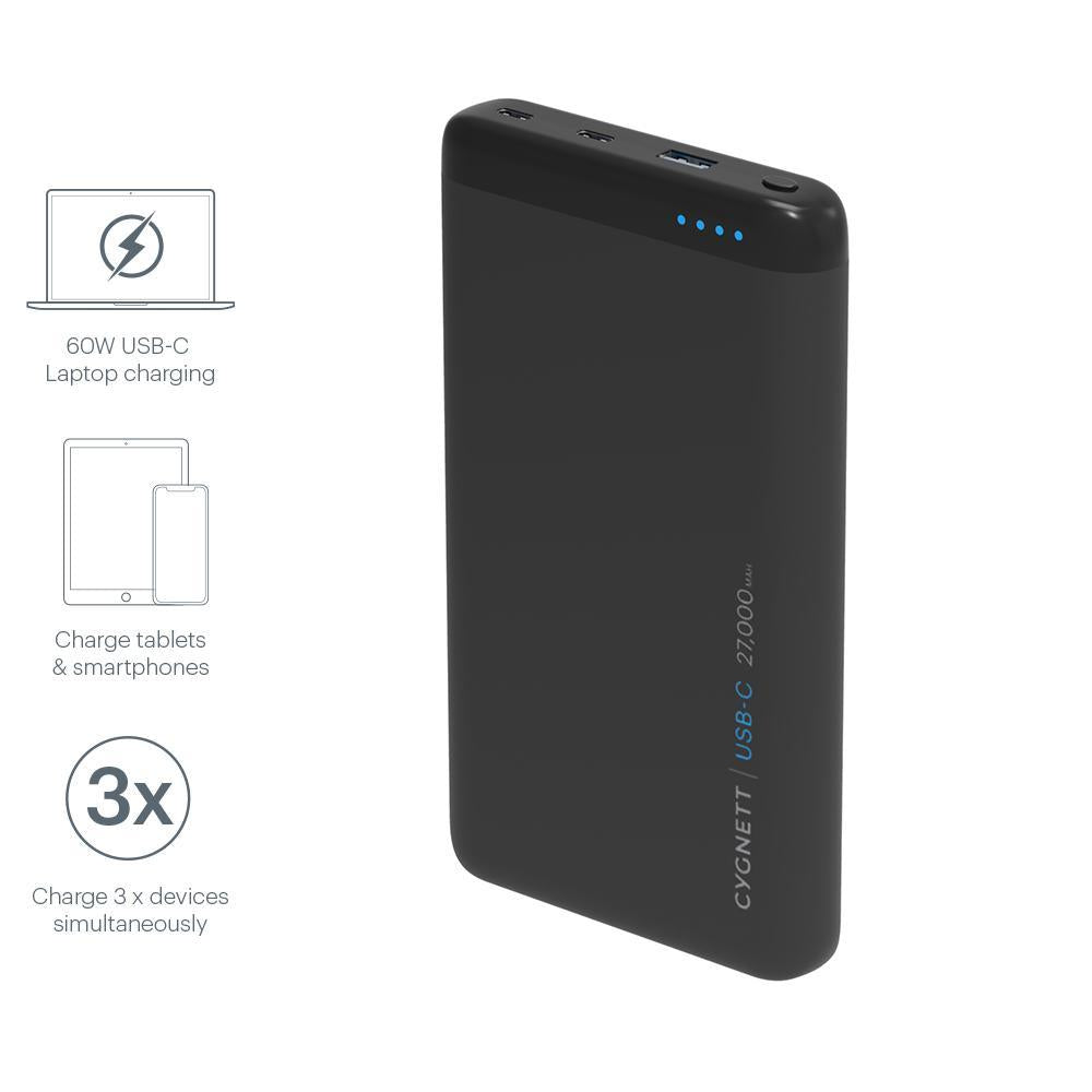 CHARGEUP PRO USB-C 27,000 mAh USB-C Laptop Power Bank