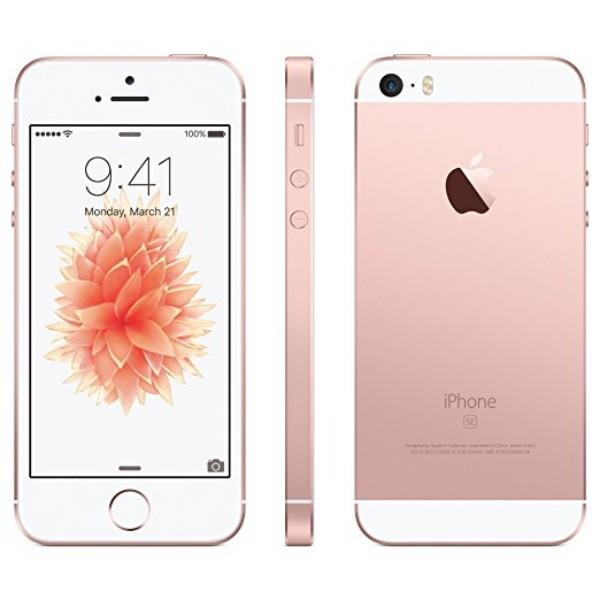 Pre-owned Apple iPhone SE Unlocked 16GB - Rose Gold