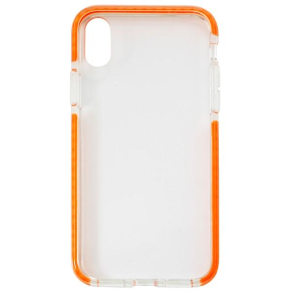 Sprout Command Case iPhone X Clear/Orange