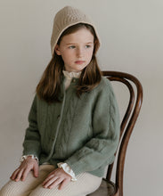 Load image into Gallery viewer, Olivia Knit Cardigan (vintage green)