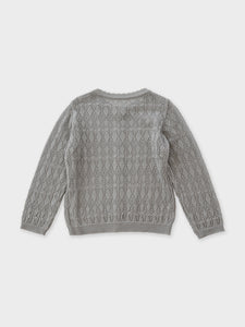 Beyer Knit Cardigan (blue gray)