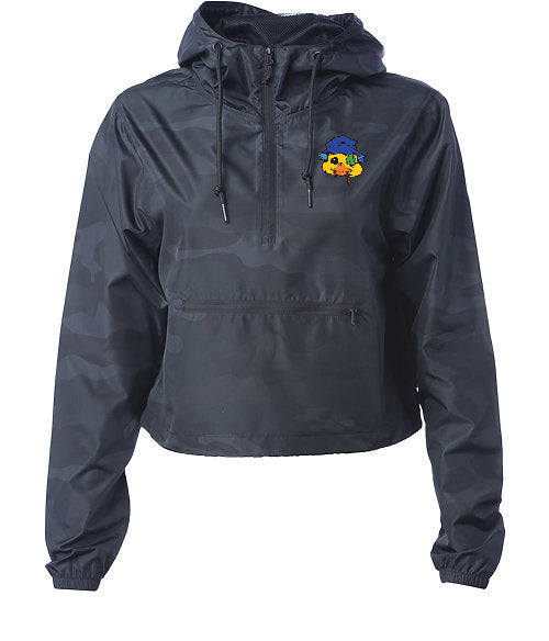CROP TOP CHICK WINDBREAKER