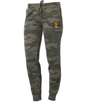 WOMEN GREEN ARMY PANTS (SCARECROW)