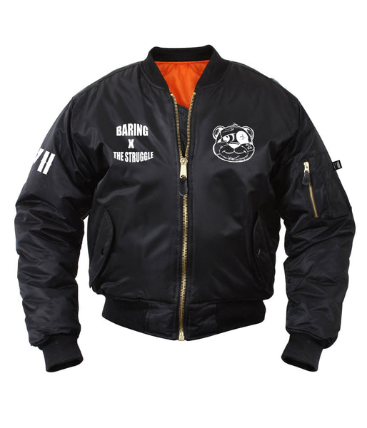 MEN REGULAR BOMBER JACKET