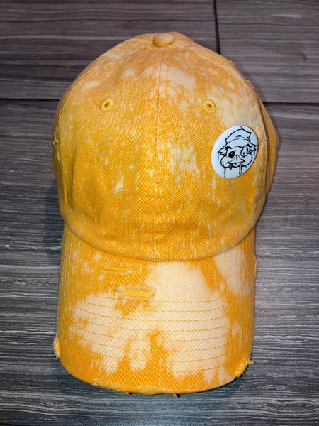 Chick bleached dad cap