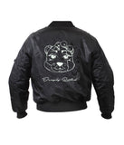 KIDS (GIRL) GLOWING TEDDY BOMBER JACKET