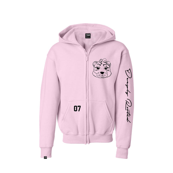 KIDS (GIRL) TEDDY ZIP UP