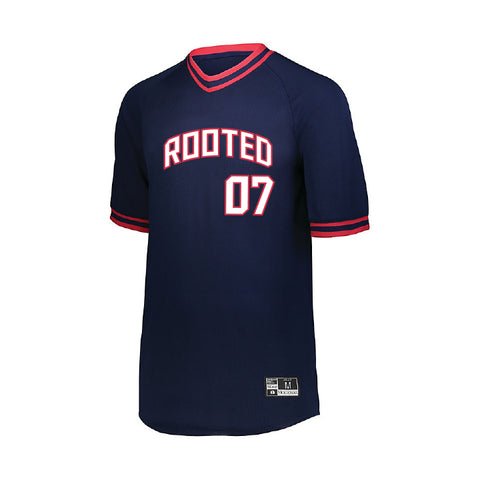 ROOTED V NECK JERSEY