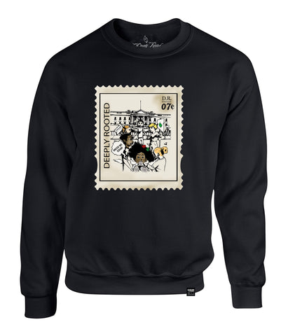 MEN DR '07 STAMP CREWNECK