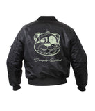 KIDS GLOWING TEDDY BOMBER JACKETS
