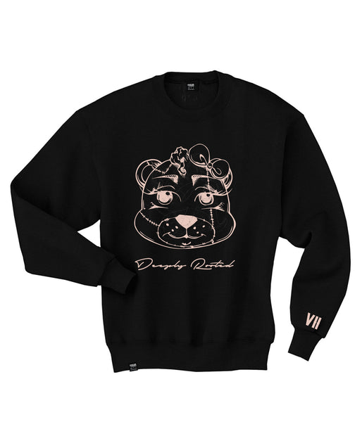 KIDS (GIRLS)  TEDDY CREWNECK