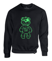 MEN GLOW N DARK  TEDDY