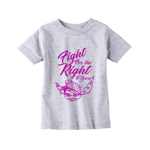 TODDLERS (GIRL) FIGHT FOR THE RIGHT TO GROW LONG SLEEVE