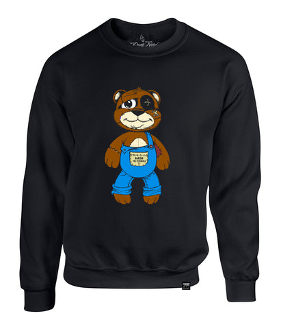KIDS (BOYS/GIRLS) TEDDY CREWNECK FULL BODY