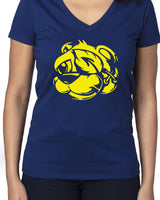 LADIES V NECK (BEAR)