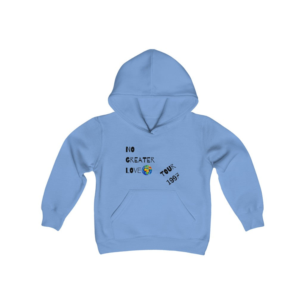 NO GREATER LOVE TOUR YOUTH HOODIE