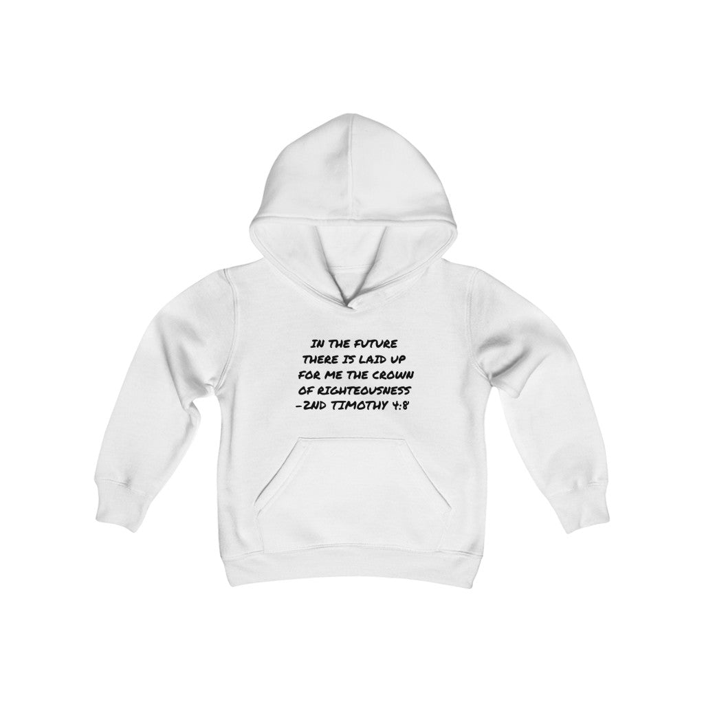 2ND TIMOTHY 4:8 YOUTH HOODIE