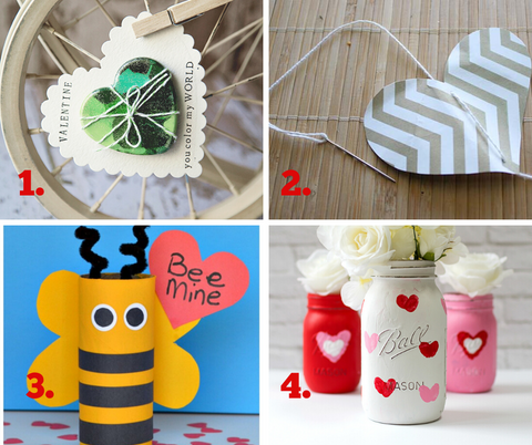 Recycled Valentine's Day Crafts - Oompa Toys Blog