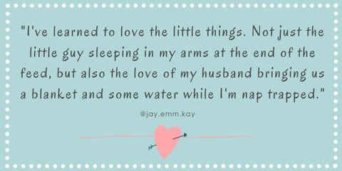 Baby Sleeping In Your Arms Quote - Oompa Toys