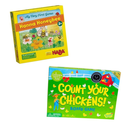 Hannah Honeybee Count Your Chickens Family Game Night Cooperative Games