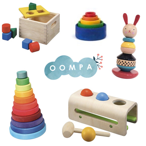 Early childhood development toys for 1 year olds Oompa toys