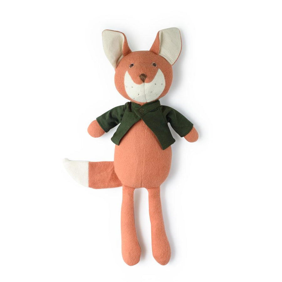 Owen Fox - Organic Stuffed Animal - Hazel Village