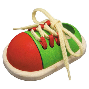 Plan Toys Tie-Up Shoe