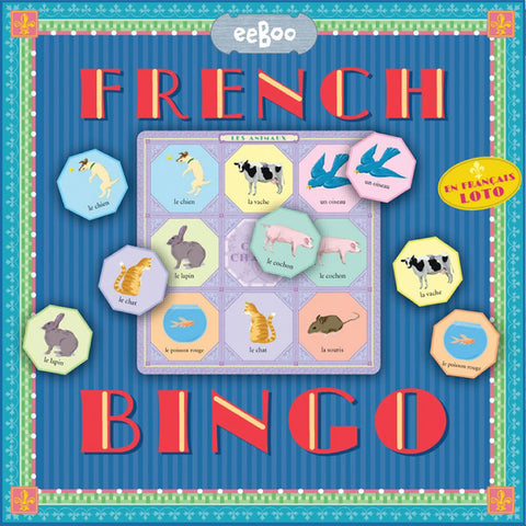 eeBoo French Bingo Game