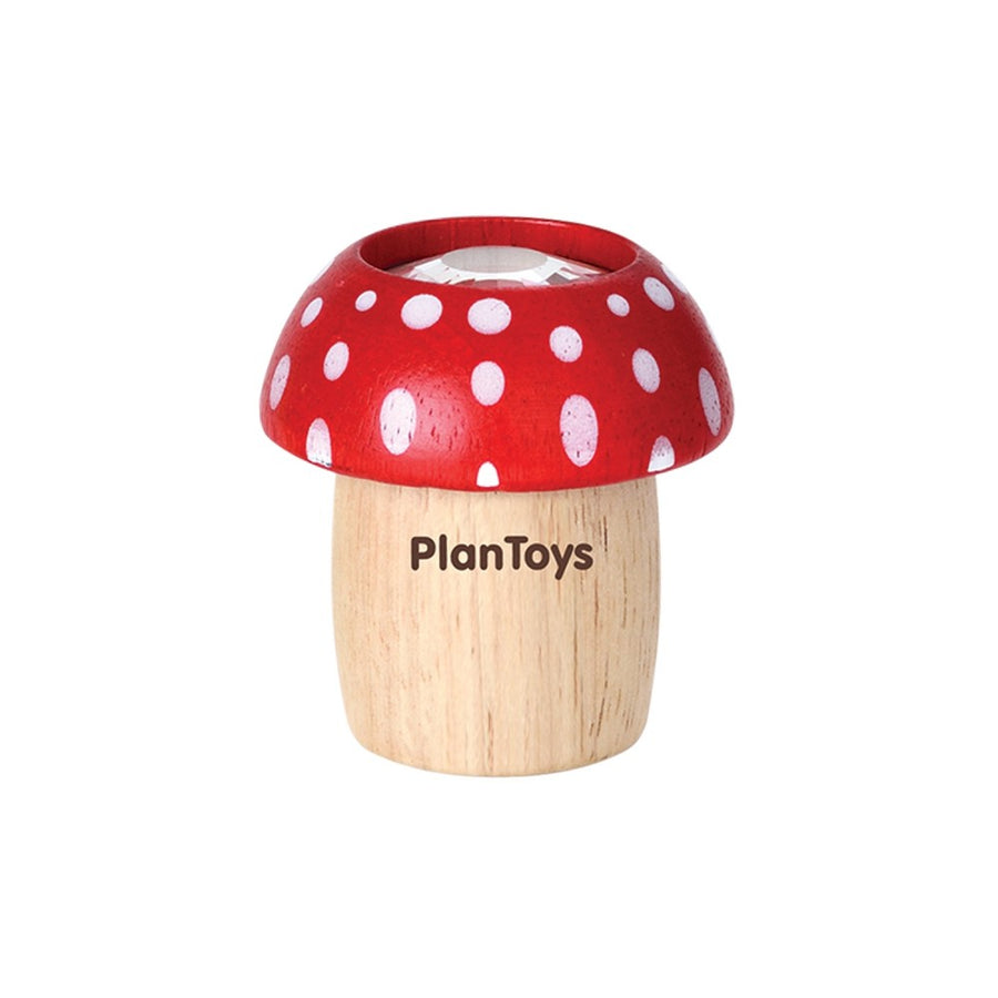 Red Mushroom Kaleidoscope - Plan Toys - Oompa Toys