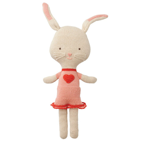 Organic Rita Rabbit Knitted Toy