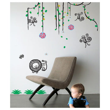 Wee Gallery Jungle Collection Wall Graphics