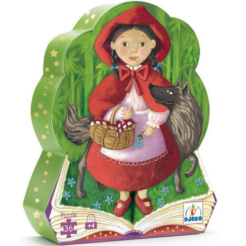 Djeco Little Red Riding Hood Puzzle (36 Pieces)