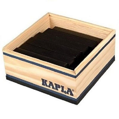 Kapla Kapla Block Set - 40 Piece Black